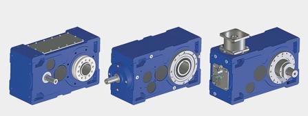 軸安裝齒輪箱和斜齒輪箱
